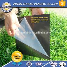PVC book binding materials, photo album PVC sheets