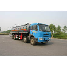 8X4 24700L Faw Plastic Tank Truck for Chemical Liquid Property Delivery (HZZ5312GHY)
