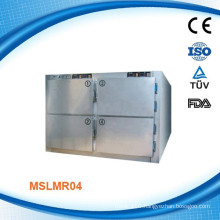 MSLMR04W CE Approval and Top Mortuary Body Refrigerators-Four Body Dead Body Refrigerator