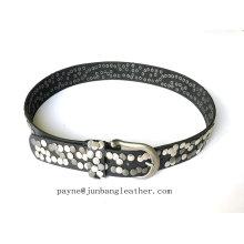 Fashion Design Alloy Buckle Women Metal Belt