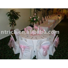 100%polyester chair covers, banquet/hptel chair covers
