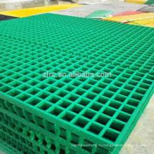 Коррозионно-устойчивые и нескользящие огнезащитные стеклопластиковые решетки