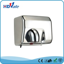 High Quanlity Warm Hand Portable Stainless Ssteel Automatic Hand Dryer for public washroom
