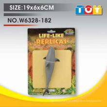 Produtos mais vendidos brinquedos de mar tubarão de borracha branca para crianças