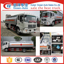 DFAC mobile 10000 litros Remolque de combustible, remolques de combustible para la venta