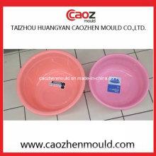 Moule de bassin de lavage en plastique ménagère / ronde