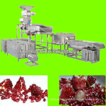 pomegranate seed extract machine pomegranate peeling machine pomegranate processing line