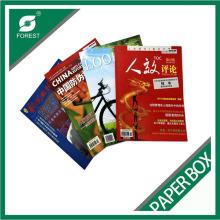 Livro de revista de papel brilhante Fp465415146545
