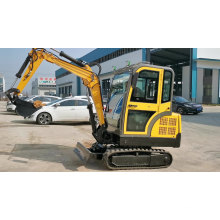 Hydraulic Engine 3500KGS Mini Excavators Small Diggers