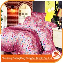 Venda por atacado de alta qualidade super confortável hotel cama de luxo conjunto