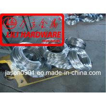 Arame de aço galvanizado de alta carbono, fábrica de arame de zinco