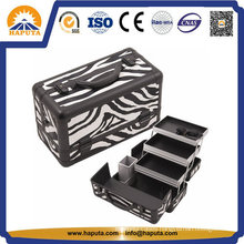 Fashion Style Zebra Makeup Case Professional (HB-2031)