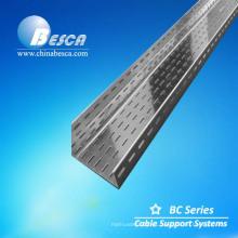 peso de la bandeja de cables de acero perforado de buena calidad