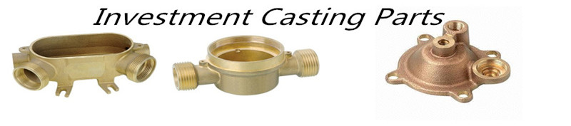 OEM brass investment casting component