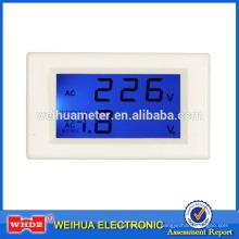 Panel Meter PM86B avec test de tension avec mesure de tension et de courant avec 2 canaux Simultaneou