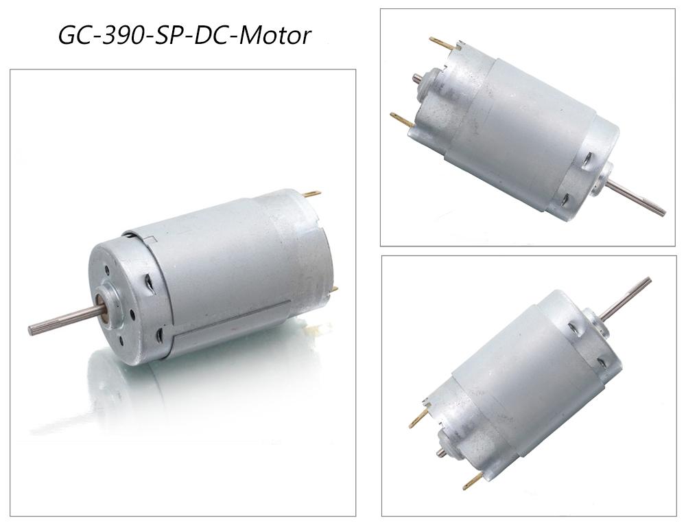 390 Dc Motor Micro Mini Brush Motor China Manufacturer
