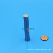 Bonne qualité N45 Aimant de tige de néodyme