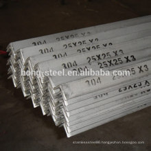 aisi304 Stainless Steel Angle bar price with sgs certification