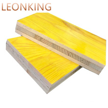 Melamine Coating DYNEA WBP Spruce Shuttering Panel / Formwork Panels Price Cheap Price 3 Ply Yellow Concrete Formwork Courtyard