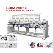 оптовая хорошее качество майя машинная вышивка; 6 headindustrial вышивальные машины для продажи