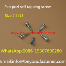 Pan Screw Self Tapping Screw Sharp Point