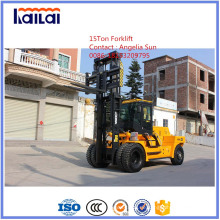 Gabelstapler 15ton Big Forklift Made in China mit japanischer Technologie