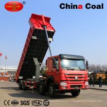 Camion benne basculante HOWO 6X4 de capacité de sable de grand volume