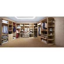 Дешевые красивой массивной древесины спальни гардероб