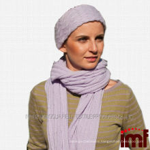 2014 newest ladies cable knitted scarf/shawl ladies classical cashmere cable scarf