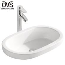 made in china ceramic top wash basin