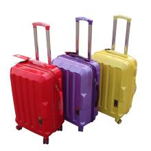 Accessoires de couleur Vente en gros Customized Cheap Zipper ABS Trolley Luggage