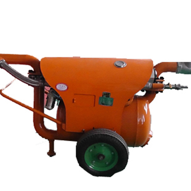 Air Driven Operated Pneumatic Dredge Pump Coal Industry