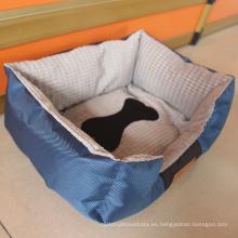 Cama de perro mascota de lujo al por mayor impermeable cálido suave