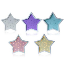Hot sale good quality for Wooden Lights Cartoon Five Pointed Star Energy Saving Wall Lamp export to Ukraine Factory