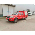 Dongfeng double cab pickup food cart
