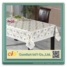 Print Design PVC Vinyl Tablecloth Pieces