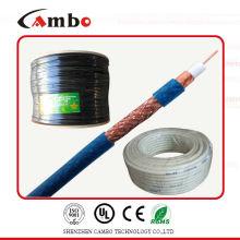 Sistema de circuito cerrado cable mini rg6 cobre desnudo