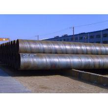 Espiral SSAW round tubulação soldada do aço de carbono ou tubo