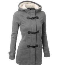 Европейский горячий продавая куртка свитера с капюшоном хлопка повелительниц