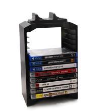 Ventilador multifuncional del soporte del disco con el muelle de carga del regulador para el soporte vertical del soporte de la consola PS4