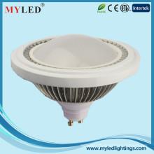 AC / DC 12v AC85-265v smd5630 120 degrés 12w ar111 led lampe 920-950lm lumière spot