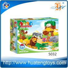 Los juguetes de conexión grandes plásticos vendedores calientes de los bloques 29PCS para el adulto