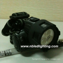 3LED Plastic Headlamp/Headlight/Headlamp