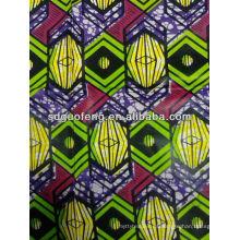 Verdaderos tejidos africanos / Tejido de batik Veritable / Tejido de algodón genuino a granel