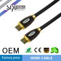 SIPU hdmi de alta calidad a hdmi cbale 1.4 cables de audio y vídeo al por mayor fot tv soporte 3d mejor cable de la computadora precio hdmi