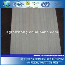 Poplar Core Burma Teak Veneer Plywood