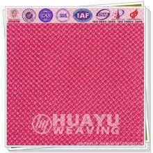Tissu 100% polyester en maille pour canapé