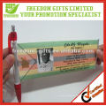 Mais popular promocional Gift Banner Ball Pen