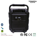 8 polegadas portátil caixa do alto-falante do consumidor com Bluetooth e bateria