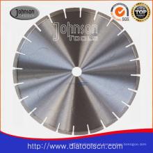 Lâmina do diamante de China: 350mm laser do diamante do baixo ruído viu a lâmina